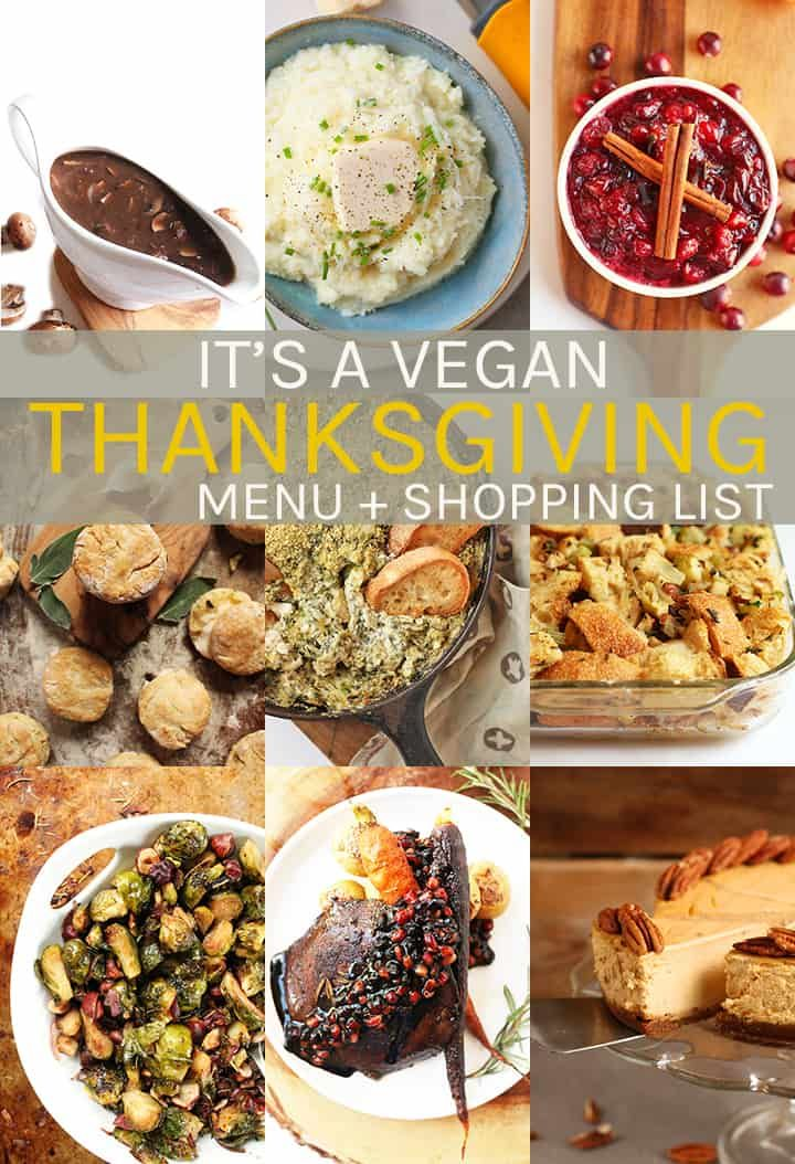 Get All Your Recipes Here With This Vegan Thanksgiving Menu