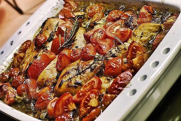 Toskanischer Hähnchen-Auflauf von Aennica | Chefkoch