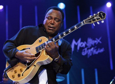 george benson greatest guitar player ever george benson music guitar jazz. Black Bedroom Furniture Sets. Home Design Ideas