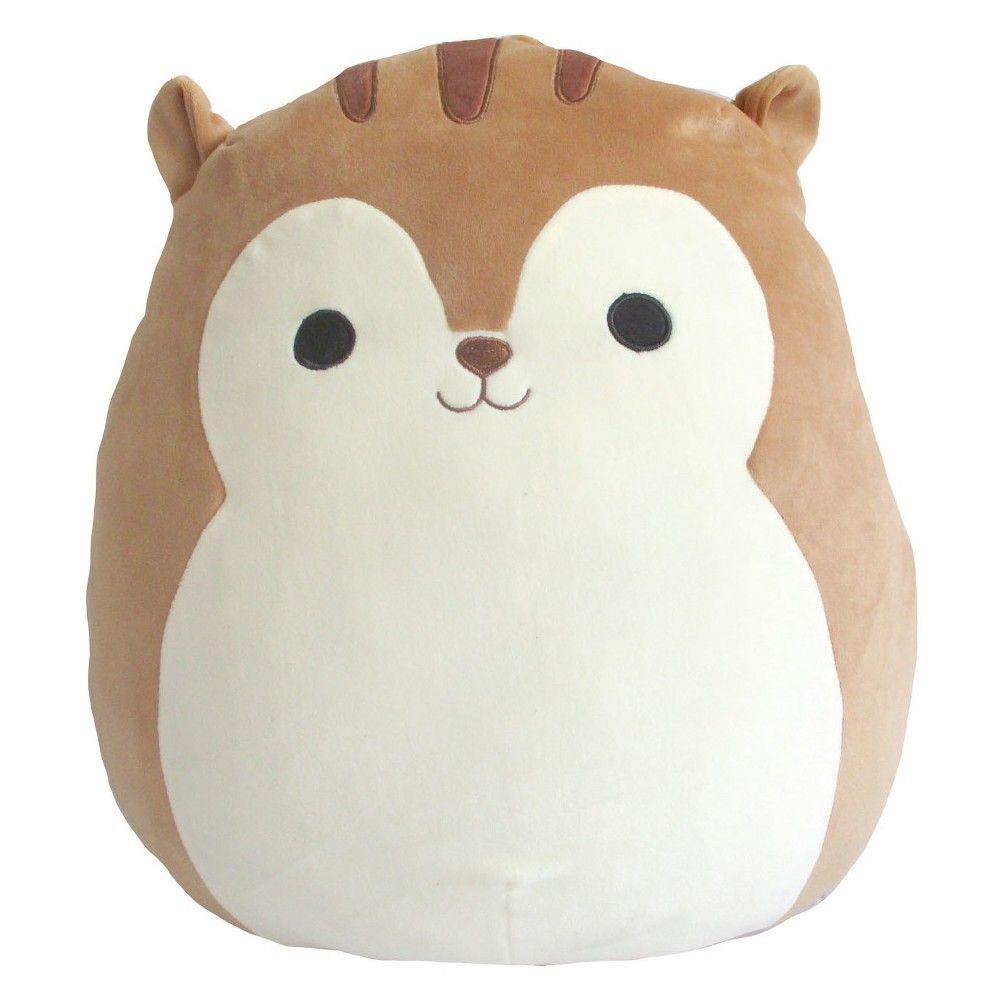 Squishmallow Squirrel 16 Plush Brown Animal Pillows Cute Squirrel Cute Stuffed Animals