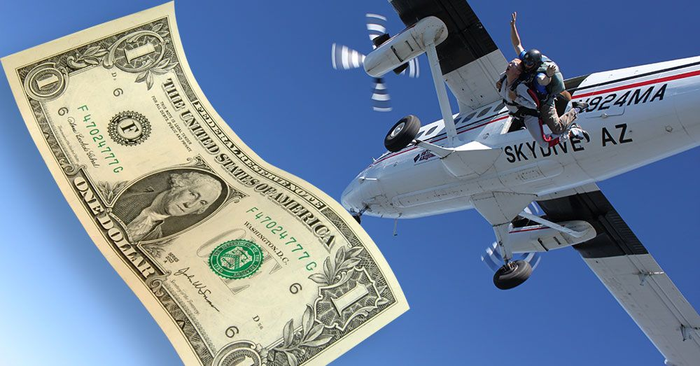 How Much Does Skydiving Cost? Skydiving, Information design
