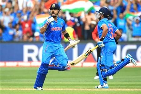 Kohli steady at no. 4, Dhawan rises to no. 6 in ICC rankings