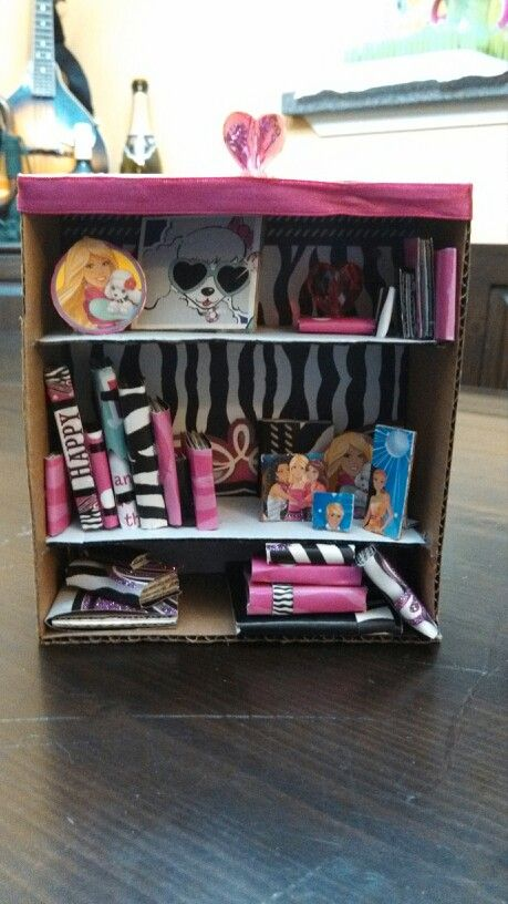 Made a Doll house bookcase