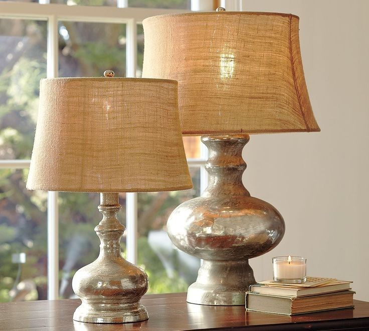 burlap lamp shade pottery barn interesting lamps pinterest table lamp burlap lampshade. Black Bedroom Furniture Sets. Home Design Ideas