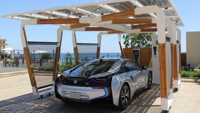 Carport Design Trend Ideen Holz Gestaltung i8 Solar