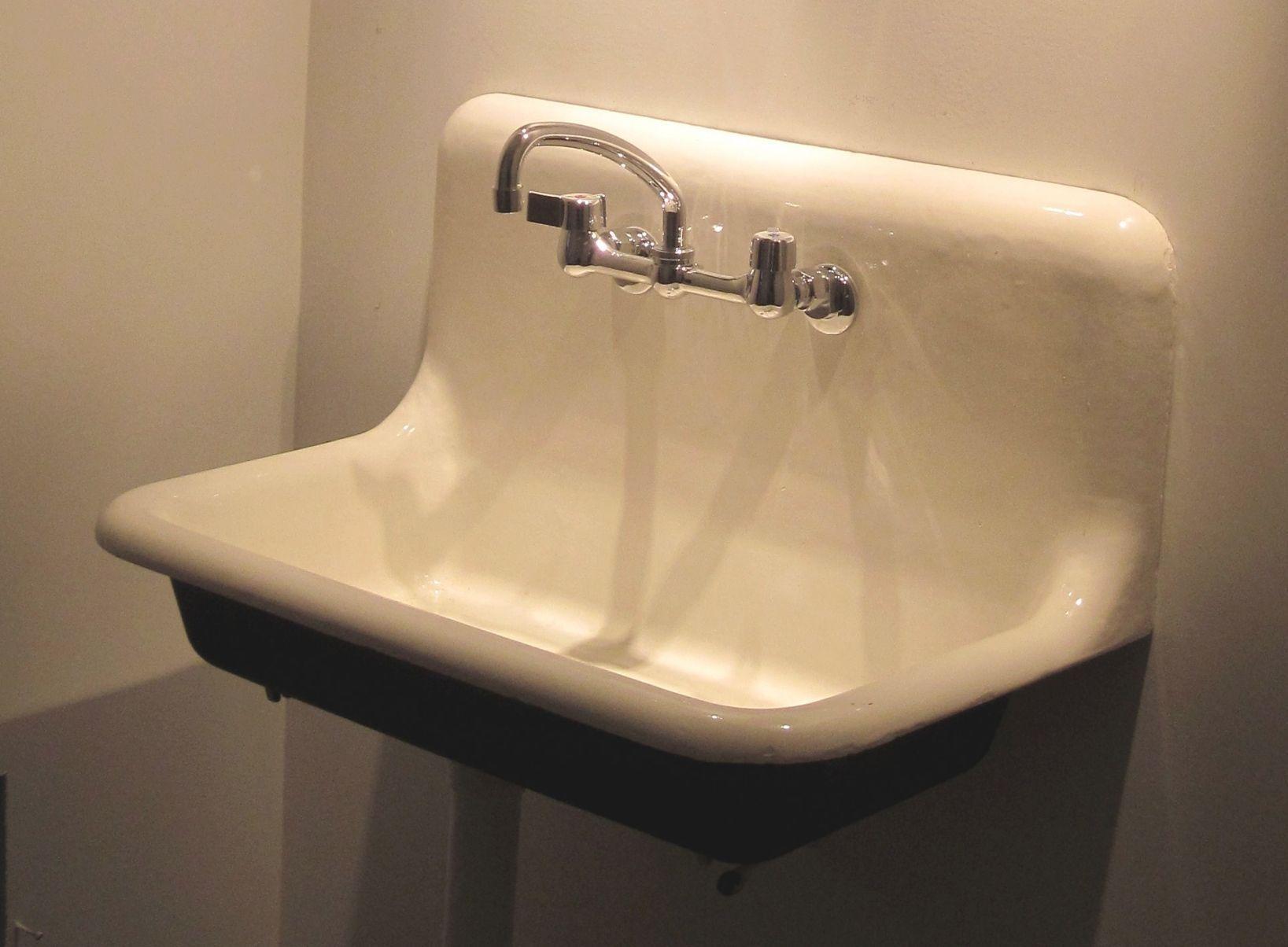 American Standard Cast Iron Kitchen Sink In 2020 Vintage Bathroom Sink Faucet Vintage Bathroom Sinks Cast Iron Sink