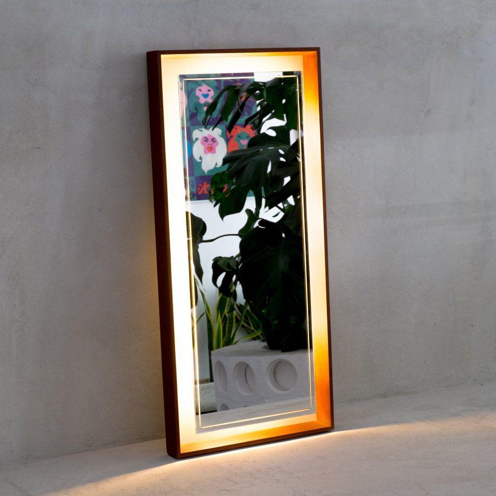For Sale Goteborg Backlit Mirror From Hillebrand 1970s Backlit Mirror Mirror Vintage Designs
