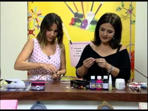Mulher.com 14/09/12 - Marisa Magalhães - Decupagem em chinelo de MDF 02-02 - YouTube