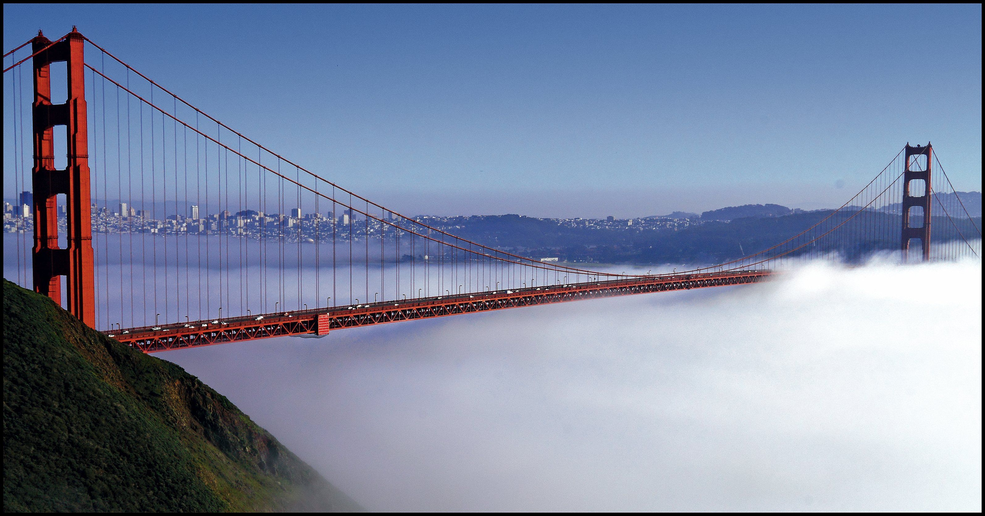 Golden Gate bridge Suspension BridgeSan FranciscoGolden