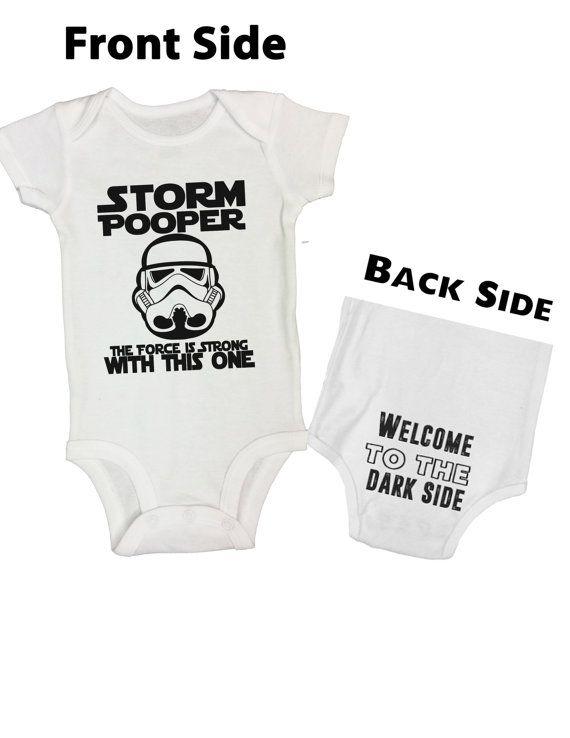 Little Royaltee Funny Boys Onesie Storm Pooper Cute Kids Bodysuits Shirts