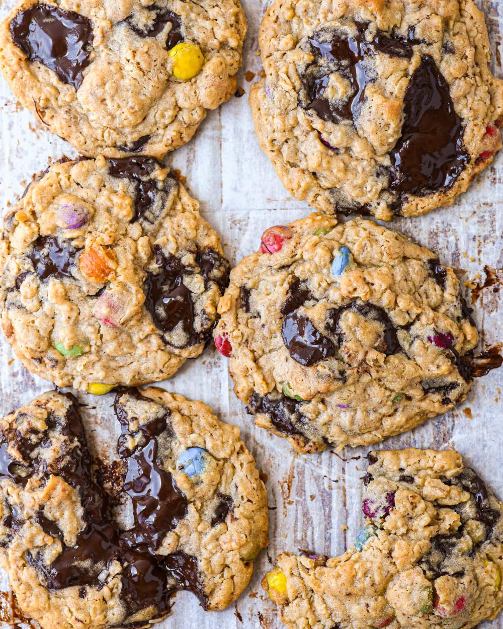 1 Egg Yolk 6 Monster Cookies Buttermilk By Sam Recipe In 2020 Monster Cookies Recipe Monster Cookies How Sweet Eats