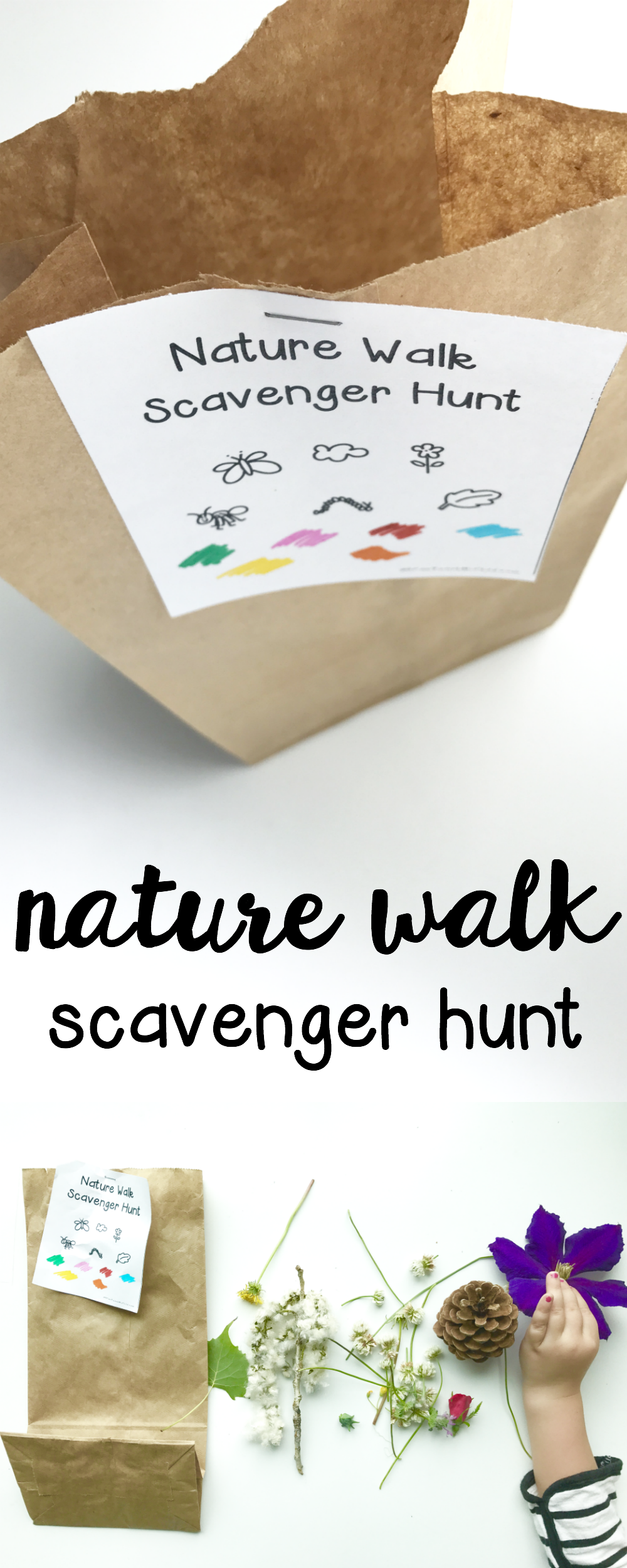 nature walk scavenger hunt such a fun outdoor activity for toddlers and preschoolers. Black Bedroom Furniture Sets. Home Design Ideas