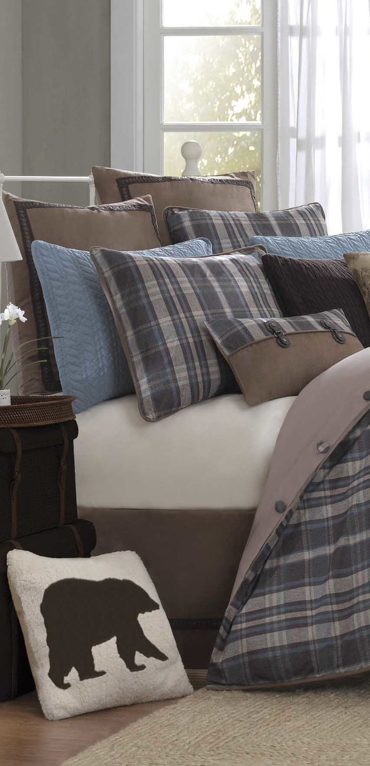 Woolrich Hadley Cabin Bedding Collection Rustic Bedding