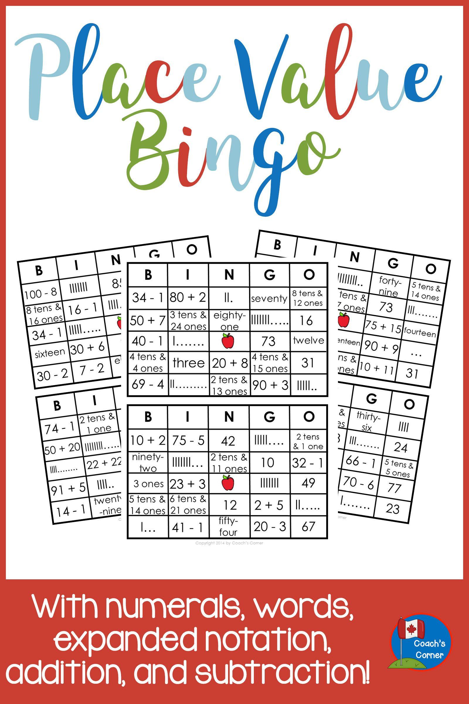 Place Value Bingo With A Twist