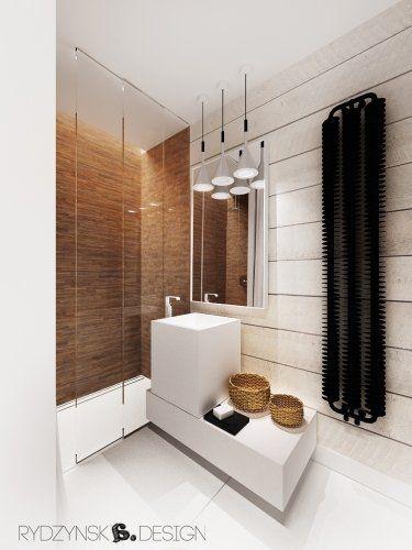 Łazienka 4,3m2 z prysznicem w stylu skandynawskim  Kupeľne  Pinterest
