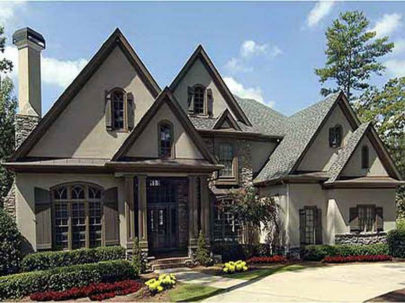 French chateau house plans best french country house French country home plans