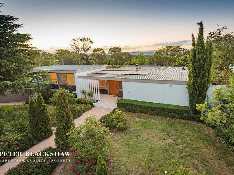 14 Beauchamp St Deakin ACT Modernist Australia Australian