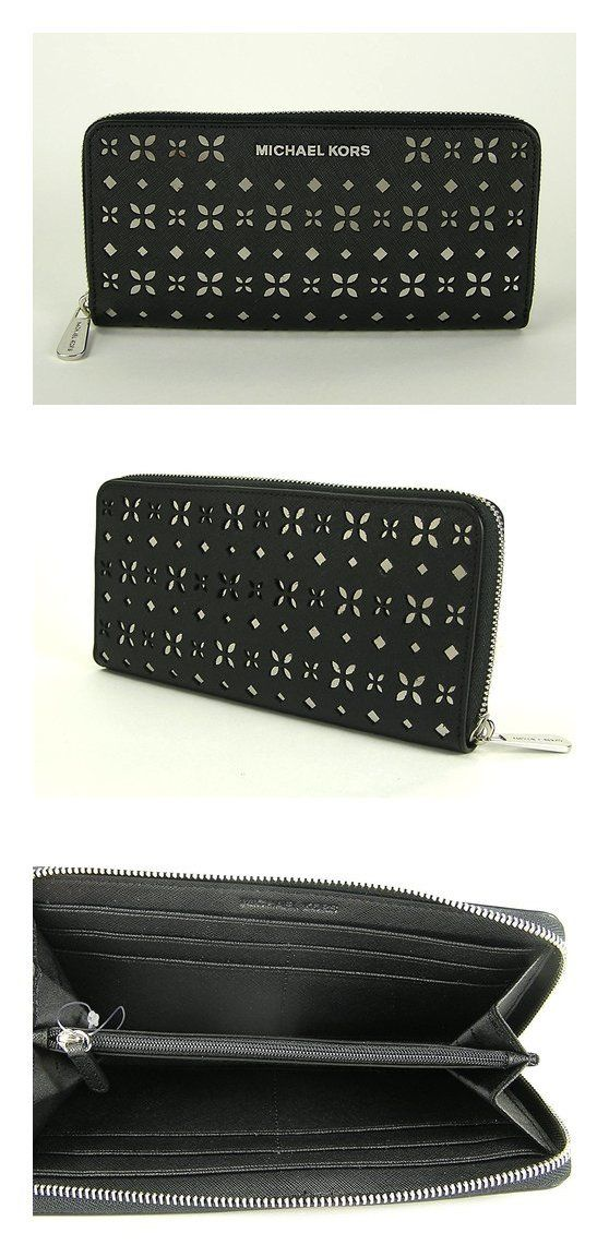 a94c5deb0173  95 - MICHAEL KORS Jet Set Travel Perforated-Leather Continental Wallet   michaelkors