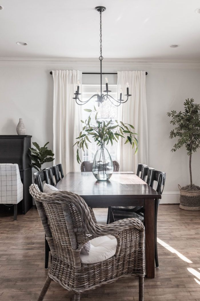 Simple Formal Dining Room Reveal | Dining room remodel ...