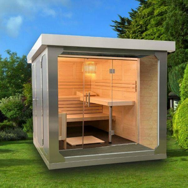 CUBEfx Delux Garden Sauna from Garden House Design. The