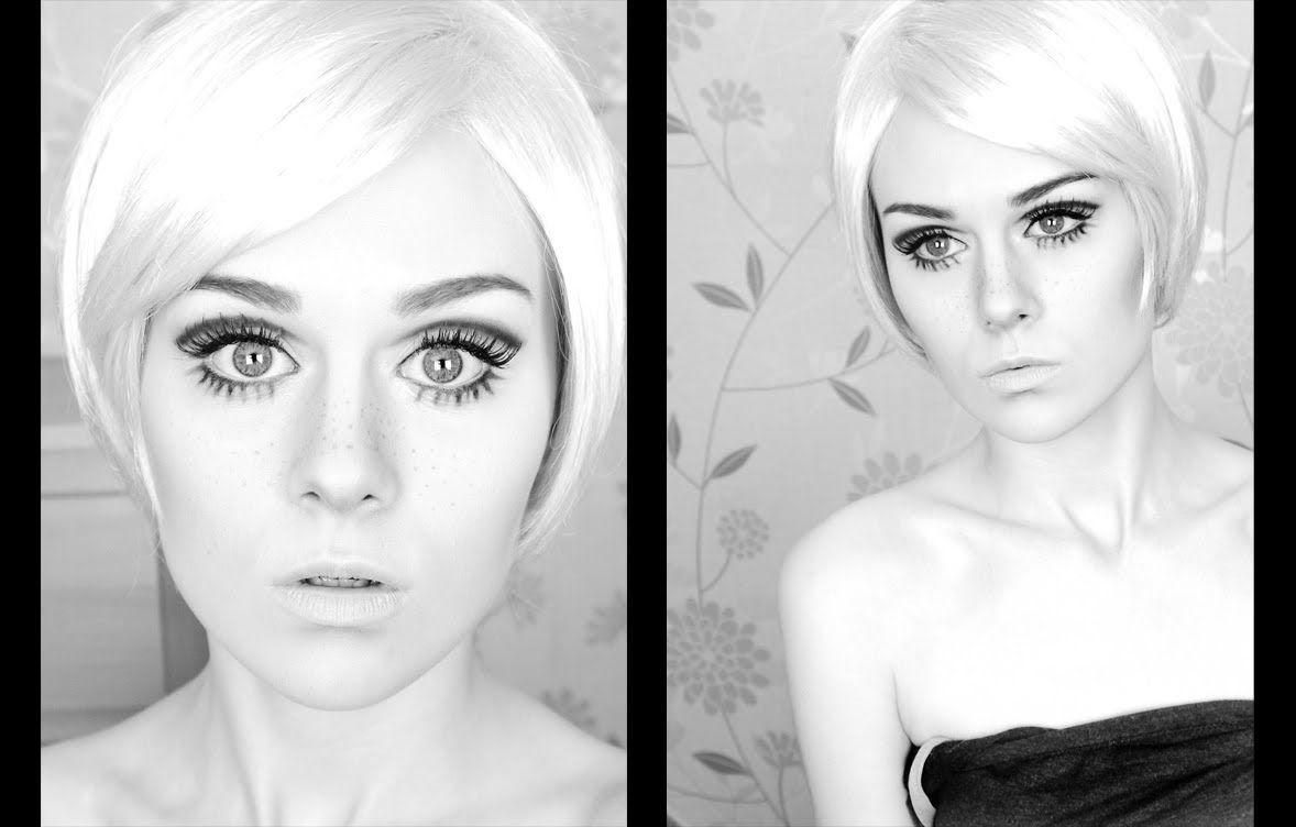 Twiggy 60s mod inspired makeup tutorial beautician pinterest twiggy 60s mod inspired makeup tutorial baditri Choice Image