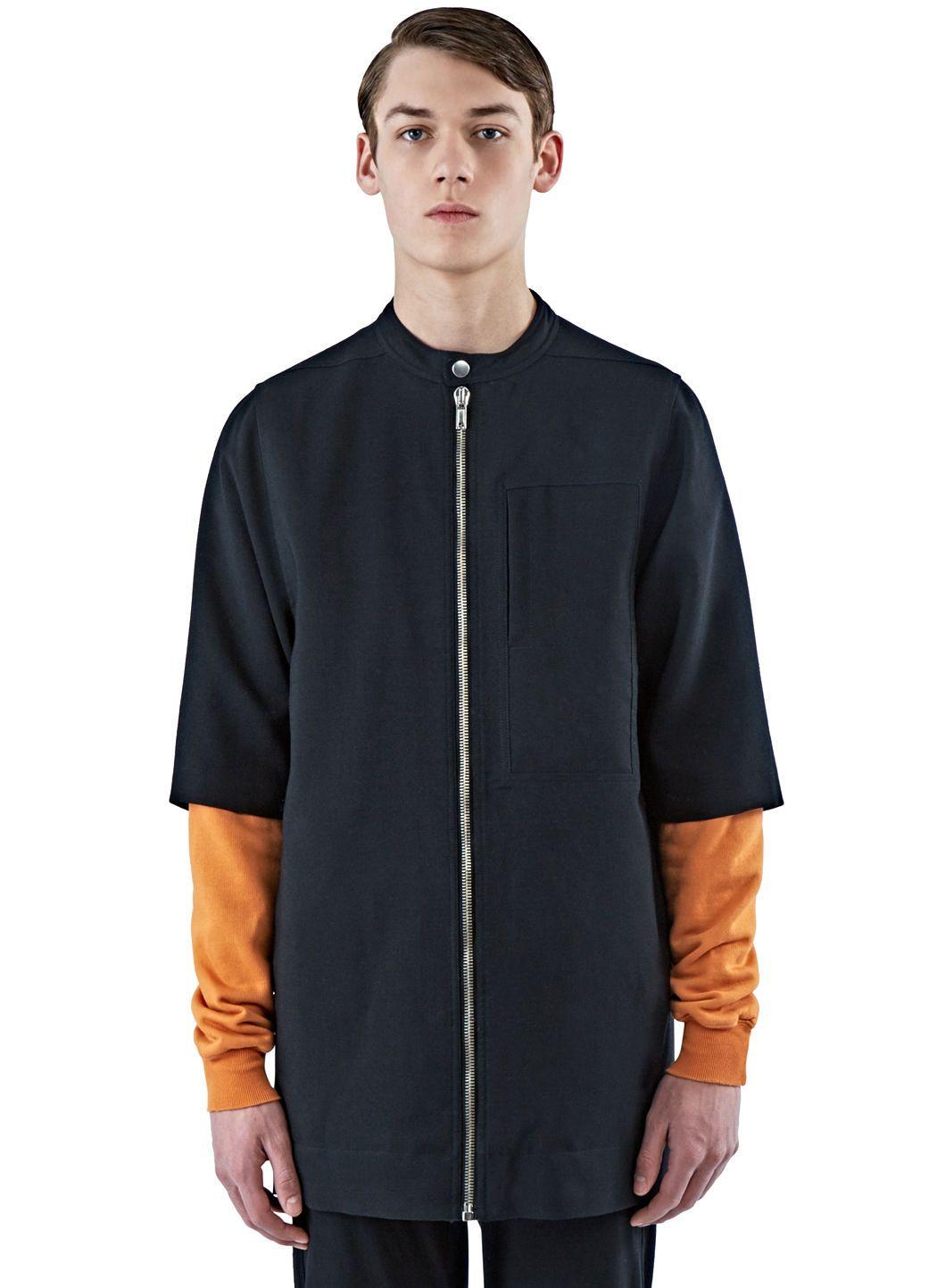 Rick Owens zipped short jacket - Black Extremely Cheap Price Cheap Sale Buy keGmuRk9Fw