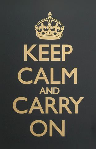 Ten Calma y Sigue adelante