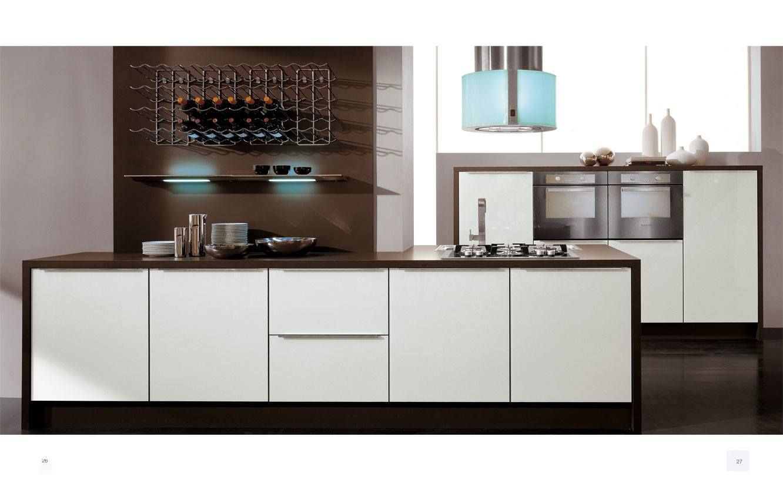 Con le Cucine LUBE puoi realizzare composizioni dalle forme semplici ...