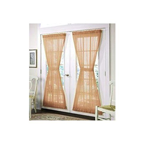 Outdoor Curtains Artofabric French Door Burlap Curtain Panel Read More At The Image Link This Is An Amazon Affiliate Link French Door Curtains Home Door Curtains