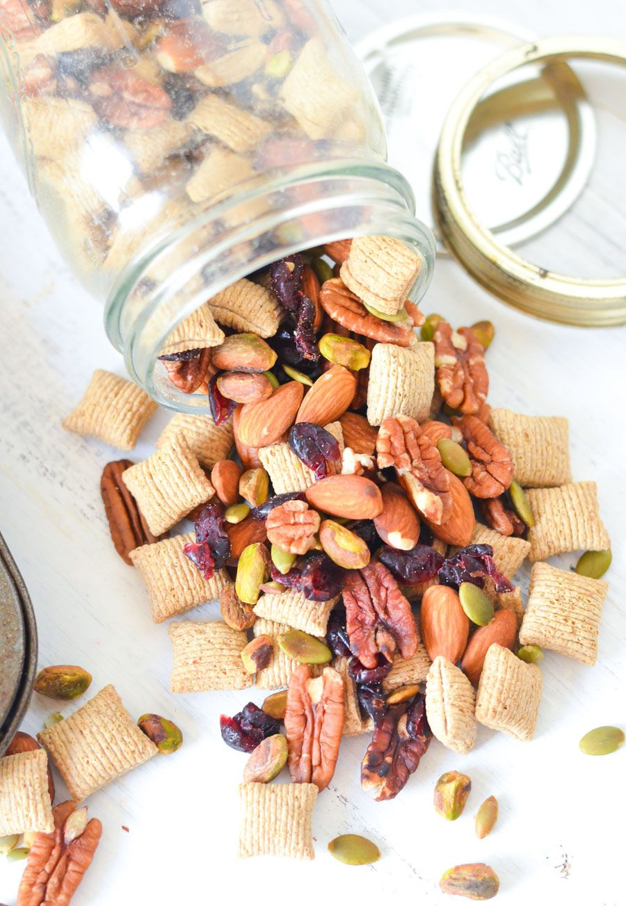 Crunchy Healthy Snack Trail Mix w. Cereal   Luci's Morsels :: Healthy LA Food Blogger
