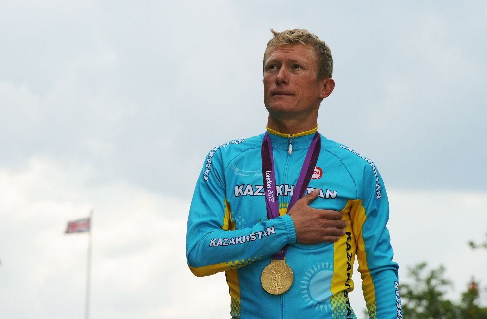 What a way to end a carrier ! Vinokourov