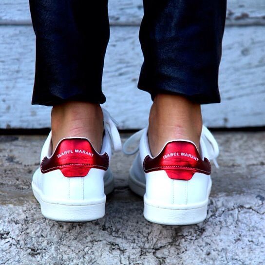 Estadísticas cerrar Supone  Basket style Stansmith - Isabel Marant | Sneakers, Fashion, My style