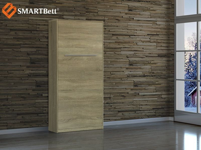 Schrankbett 90cm Vertikal Eiche Sonoma SMARTBett