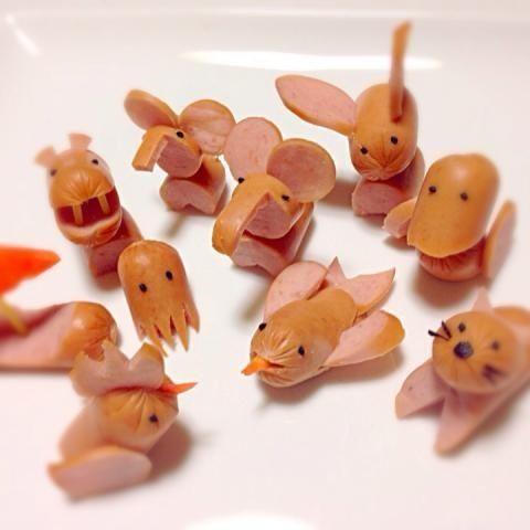 16 Diferentes Y Divertidas Maneras De Comer Salchichas Comidas Para Niños Comida Creativa Para Niños Comida Divertida Para Niños