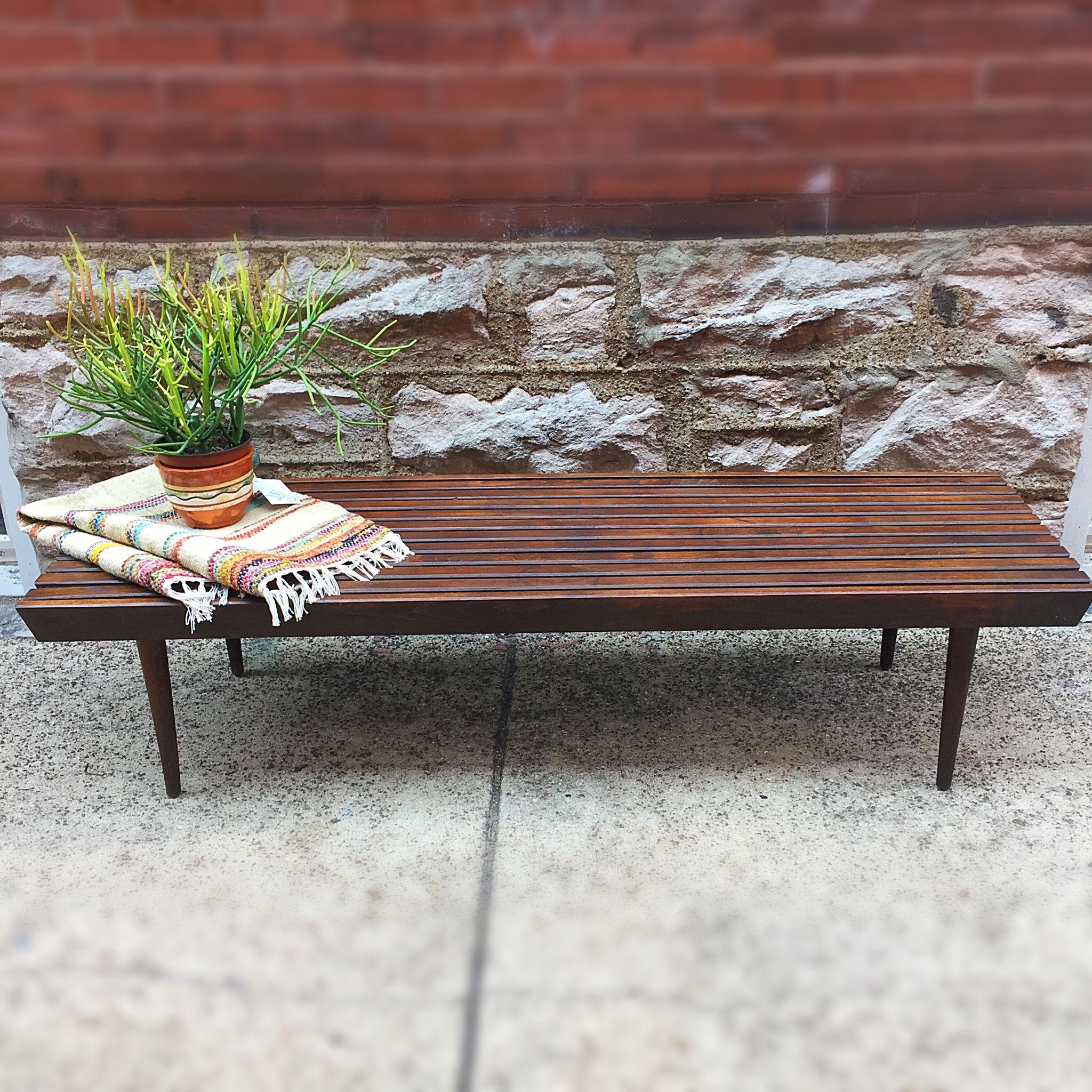 Mid Century Modern Walnut Slat Bench Coffee Table Vintage Mid Century Modern Walnut Slat Bench Co Coffee Table Vintage Coffee Table Modern Vintage Furniture [ 2048 x 2048 Pixel ]