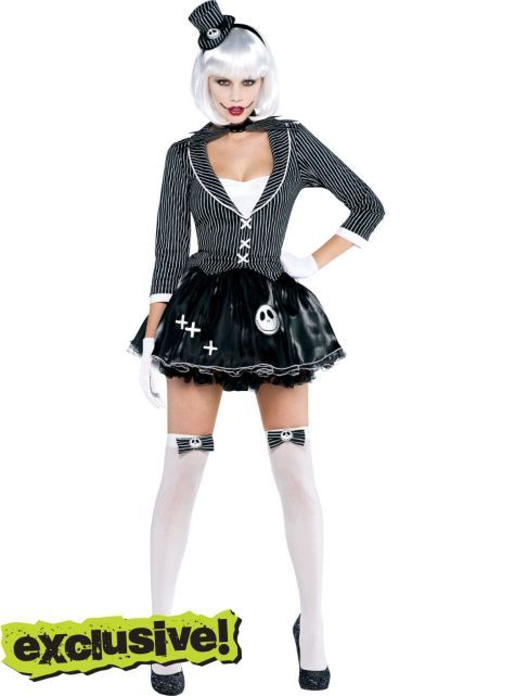 0449d3e990a Adult Lady Jack Skellington Costume - Nightmare Before Christmas - Party  City This is definitely next year s costume