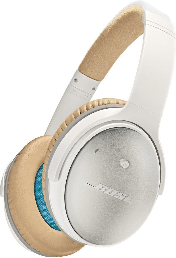 Bose Quietcomfort 25 Acoustic Noise Cancelling Headphones For Apple Devices White At Crutchfield Headphones Noise Cancelling Headphones White Headphones