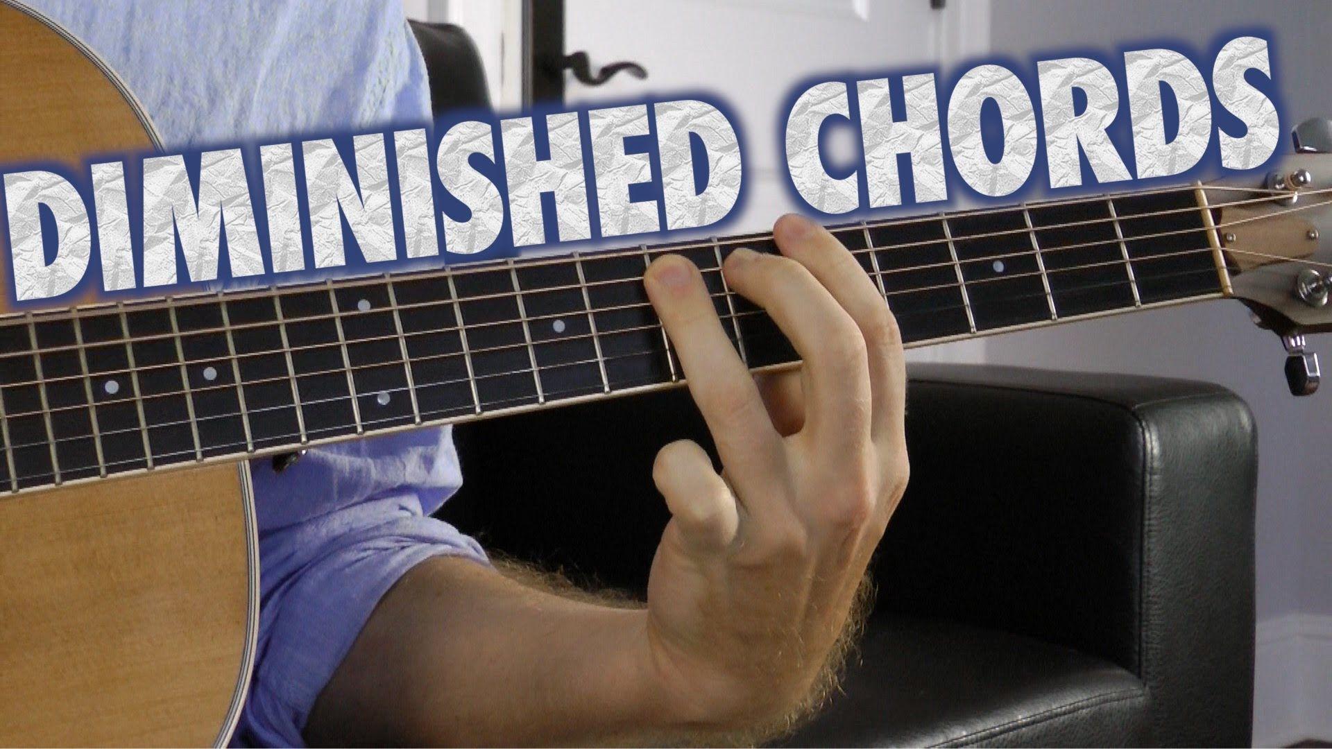 Diminished Chords On Guitar Guitarsmusic Pinterest Guitars