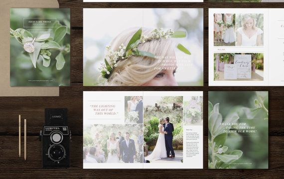 Digital Magazine Price Guide Brochure Template For Photographers Photography Welcome Packet Price List Bridal Guide Photography Magazine Template Wedding Magazine Template Wedding Photographer Marketing