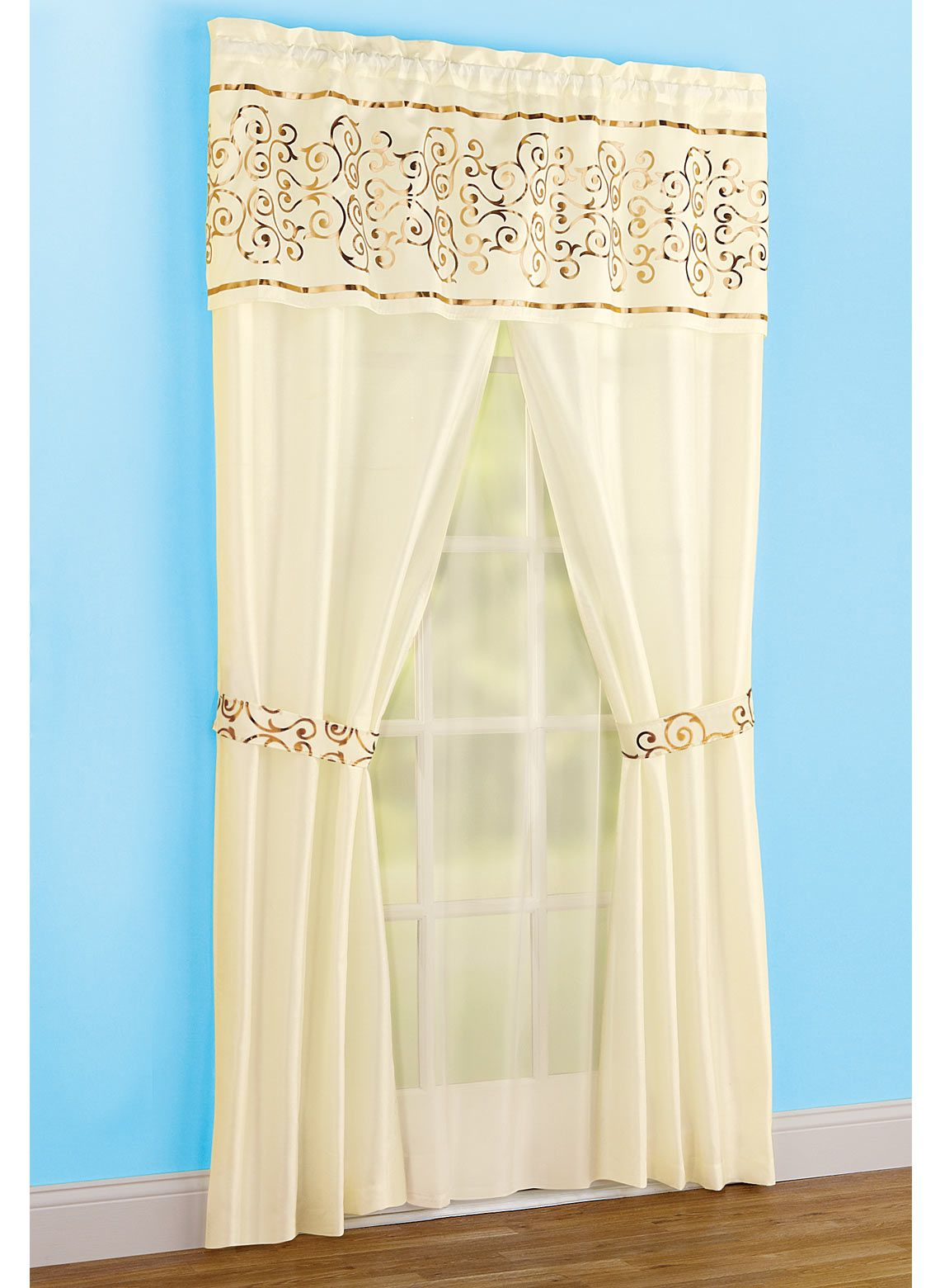 All In One Curtain Set Curtains Curtain Sets Home Decor