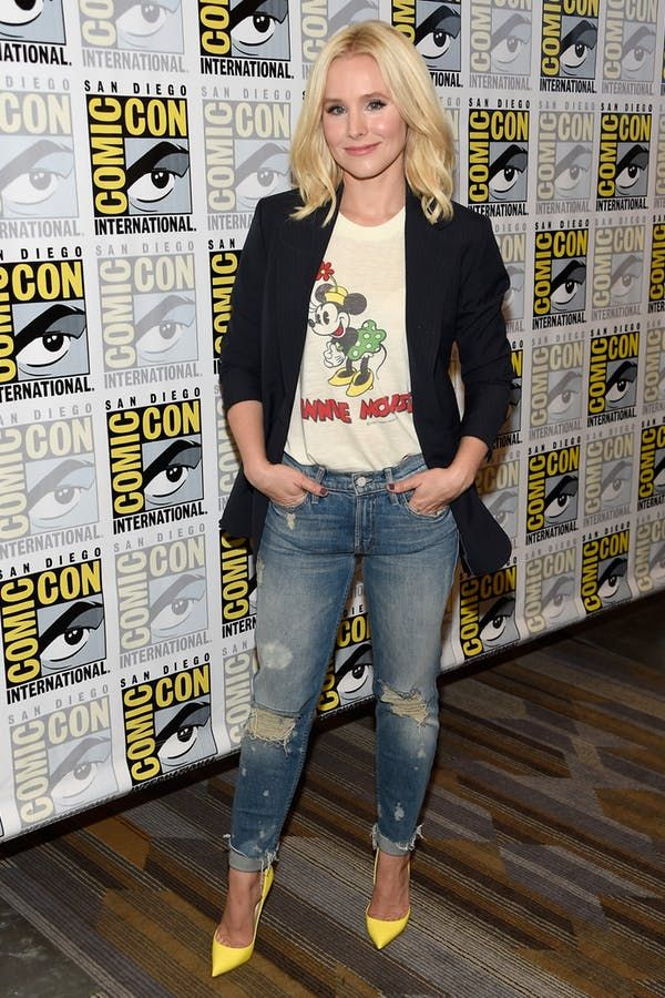 8 Totally Effortless Kristen Bell Outfits That Are So Easy to Copy
