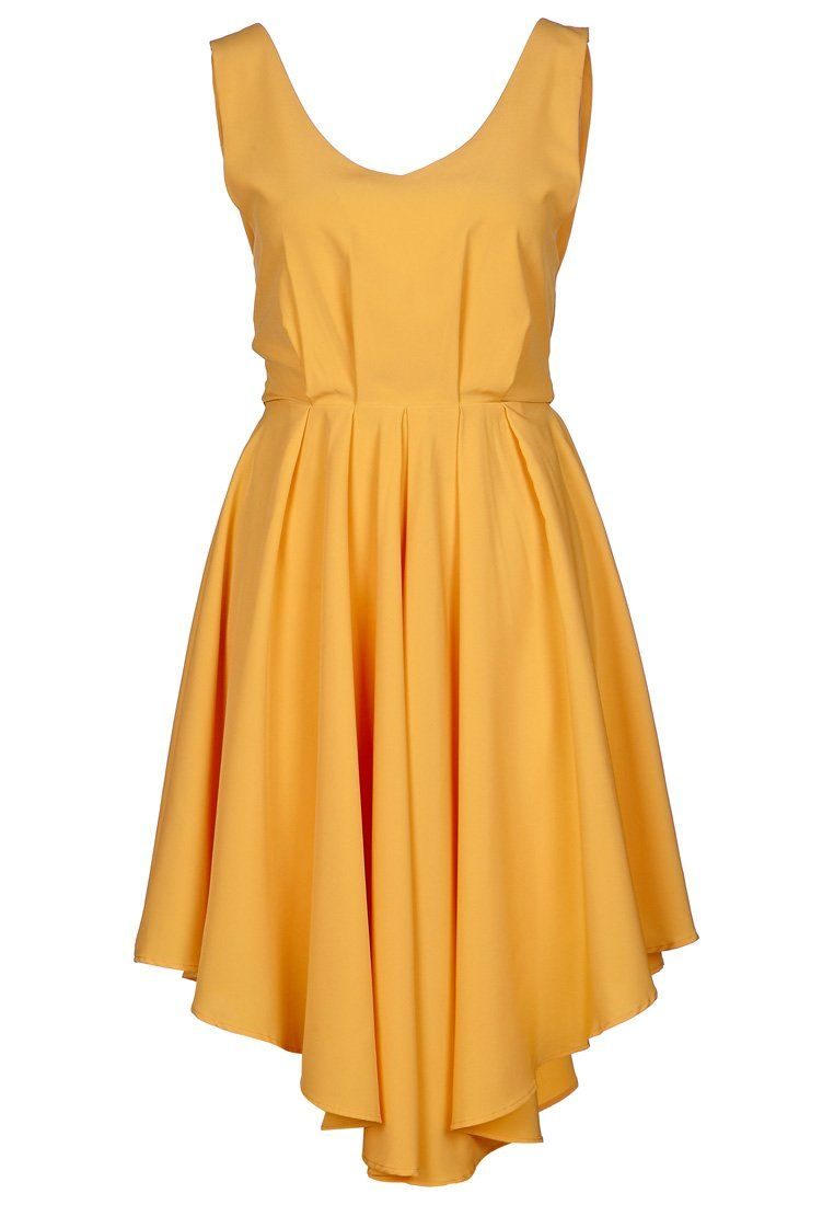 Chica Robe D 233 T 233 Yellow Zalando Couleurs Yellow