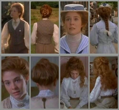 Anne S Hairstyles Anne Of Green Gables Green Gables Anne Of Green