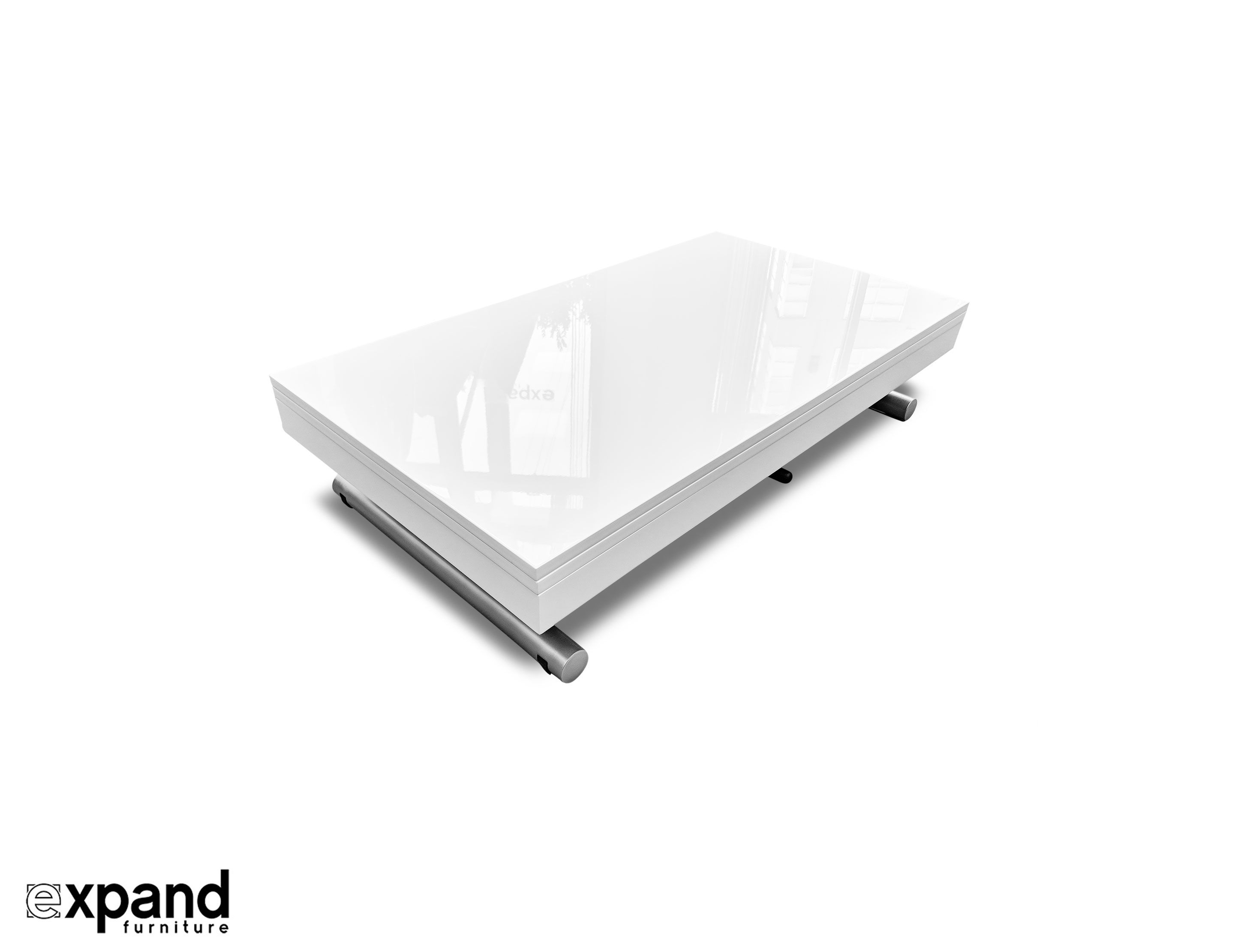 Alzare Square Transforming Coffee Table Coffee Table Table