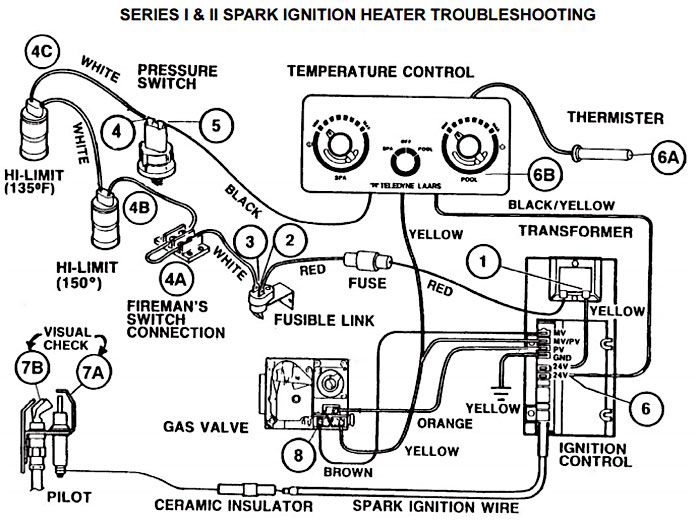 laars spark ignition pool heater troubleshooting guide pool Pool Heater with Defroster Circuit