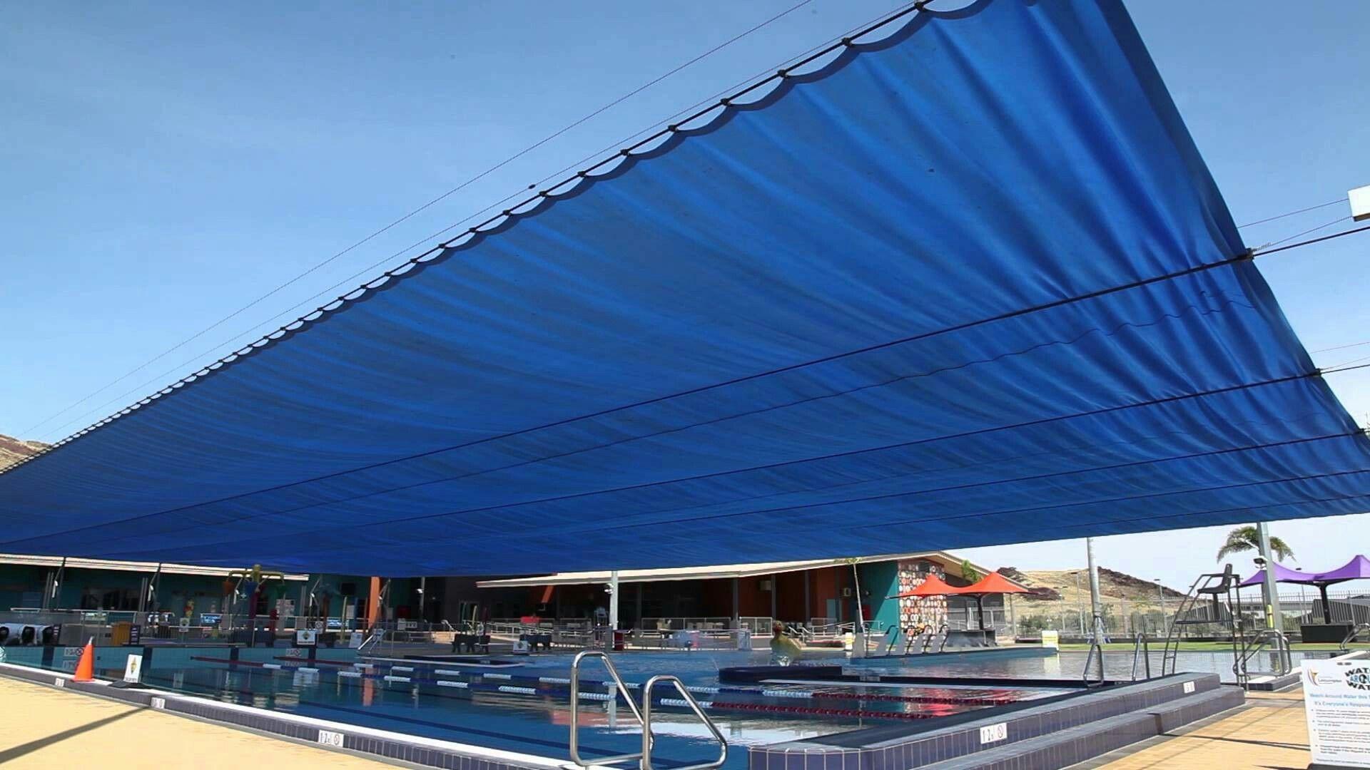 Pool Shade Pool Shade Retractable Shade Pergola With Roof