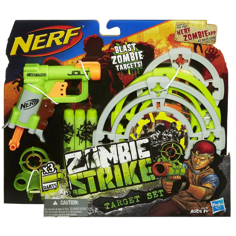 Amazon.com: Nerf Zombie Strike Target Set: Toys & Games