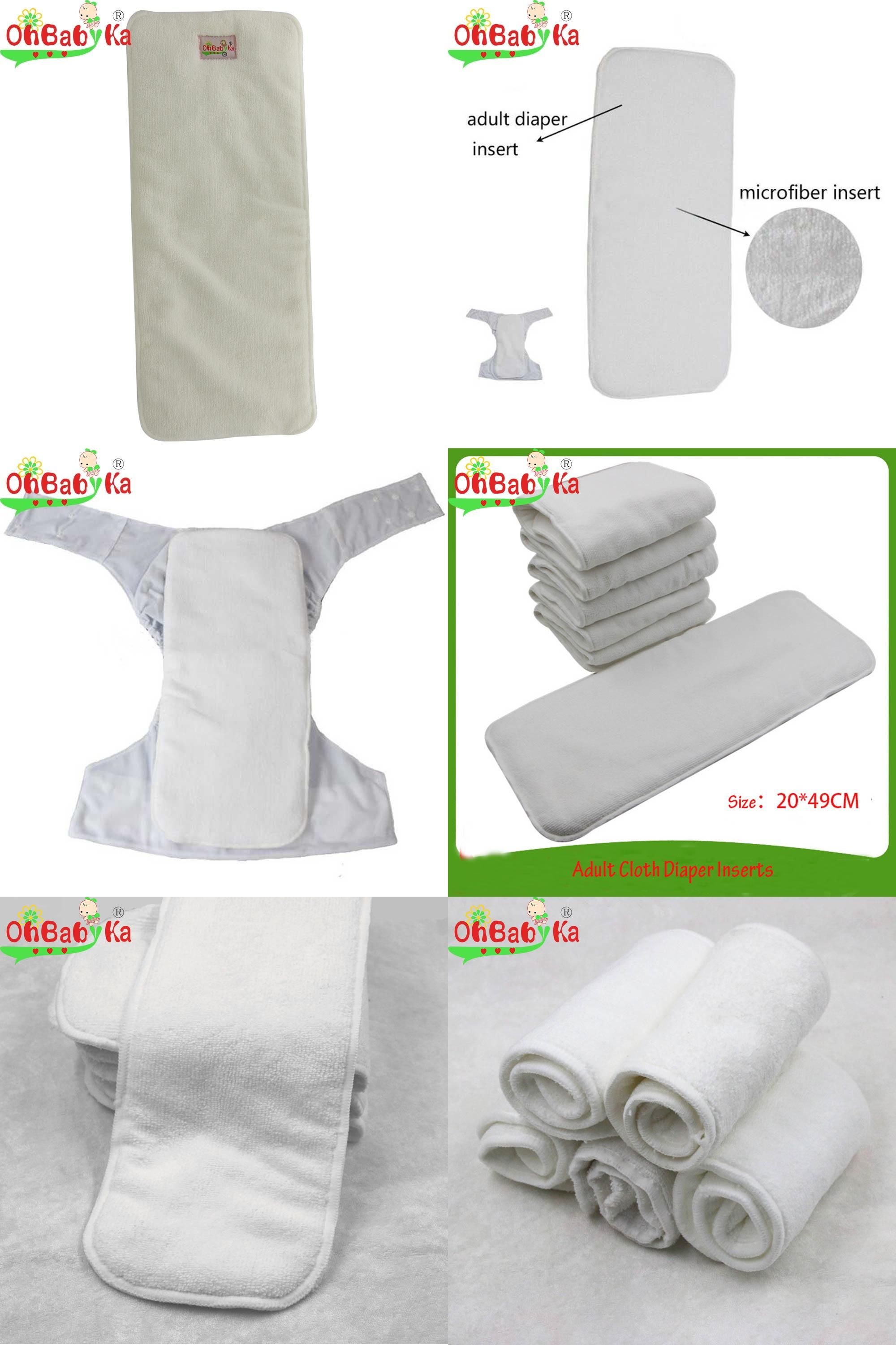 Reusable Washable  For Real  Diaper Cover Wrap  Microfibre Bamboo Charcoal R