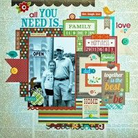 A Project by Lisa Swift from our Scrapbooking Gallery originally submitted 08/28/12 at 05:39 AM