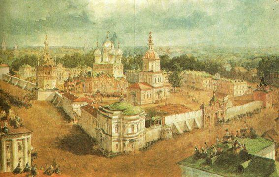 Bogojavlensky Anastadjin Monastery in Kostroma - Vasily Sadovnikov